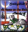 BabyDolls At Home On The Web Award